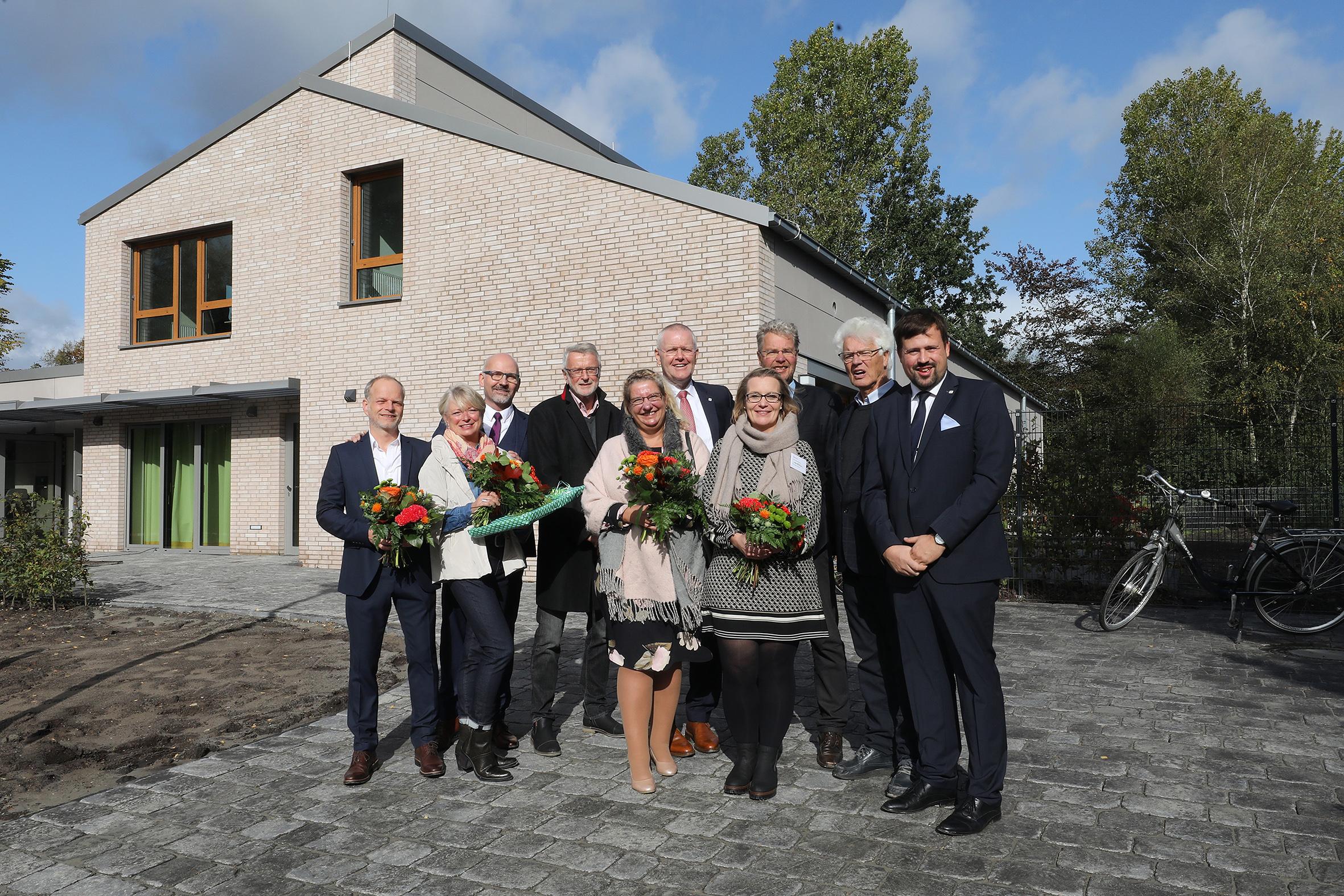 Das Hospiz Stiftung Isensee ist ein Gemeinschaftsprojekt.